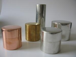 MR KITLY — Metal canister - brass or copper