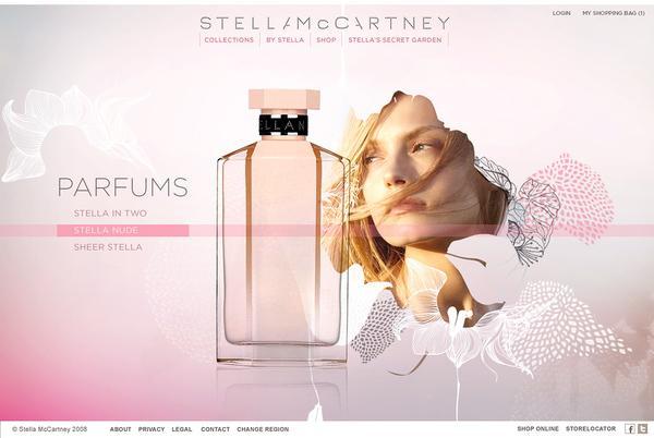 Stella Mc Cartney sur le réseau