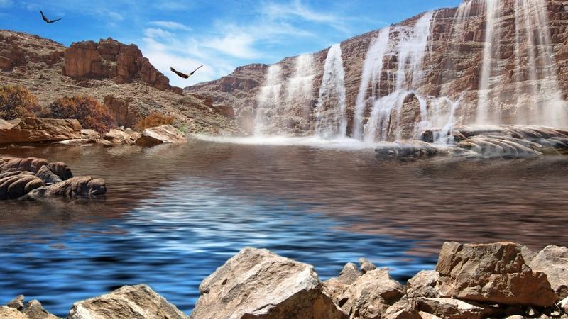 landscapes,waterfalls landscapes waterfalls 1920x1080 wallpaper – landscapes,waterfalls landscapes waterfalls 1920x1080 wallpaper – Waterfall Wallpaper – Desktop Wallpaper