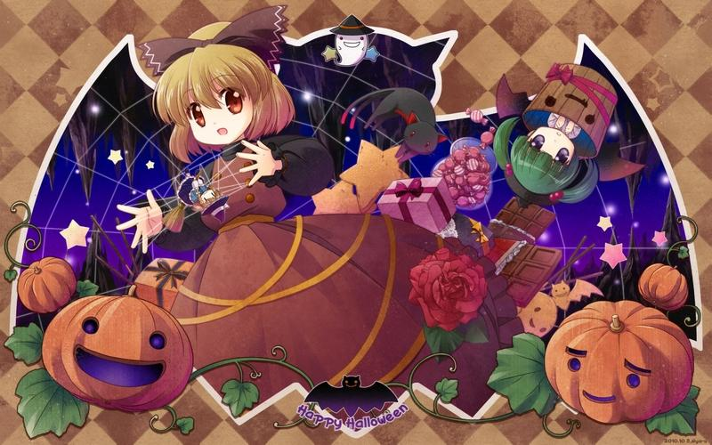 Touhou,dress touhou dress flowers cats animals halloween kaenbyou rin kirisame marisa kisume kurodani yamame anim – Touhou,dress touhou dress flowers cats animals halloween kaenbyou rin kirisame marisa kisume kurodani yamame anim – Halloween Wallpaper – Desktop Wallpaper
