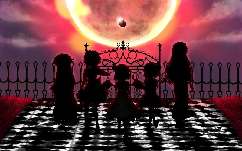 video games,clouds video games clouds touhou wings fences maids moon silhouette long hair izayoi sakuya vampires short – video games,clouds video games clouds touhou wings fences maids moon silhouette long hair izayoi sakuya vampires short – Apple Wallpaper – Desktop Wallpaper