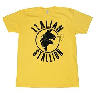 Rocky Clothing - Italian Stallion Logo T-Shirt By Animation Shops