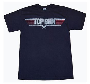 Top Gun Clothing - Top Gun Movie Logo T-Shirt by Animation Shops