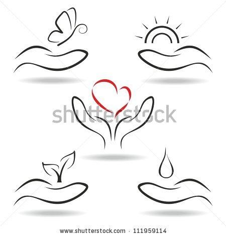 Love The Nature Stock Vector 111959114 : Shutterstock