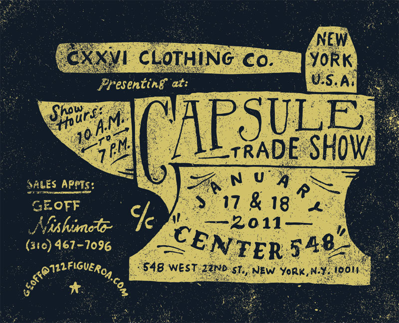 CXXVI Clothing Co. — News