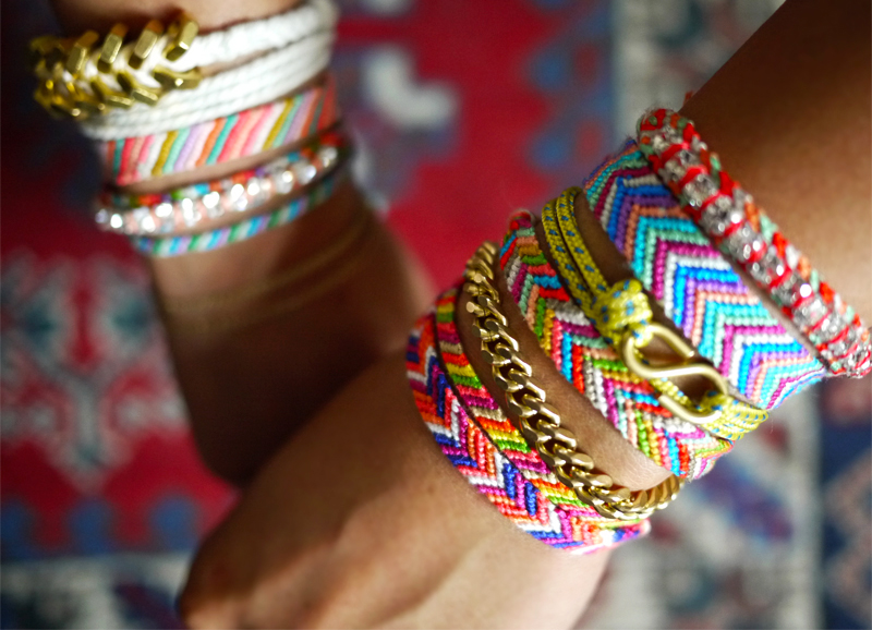 Nótt by Dina - Living, Dreaming With Some Crafting in Between: Tutorial : DIY Friendship Bracelet
