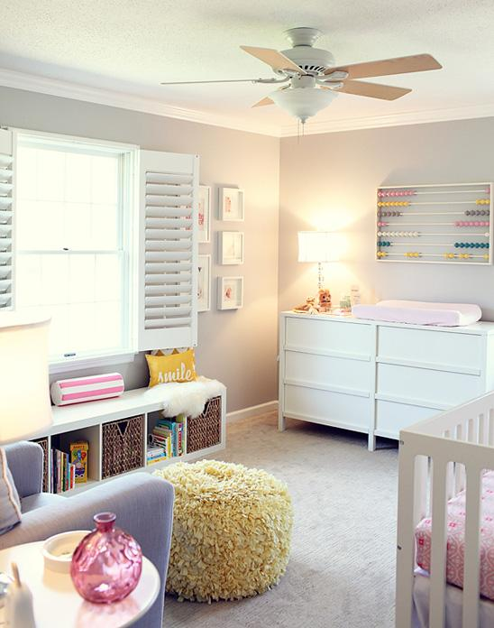 Reece's Colorful and Cozy Nursery