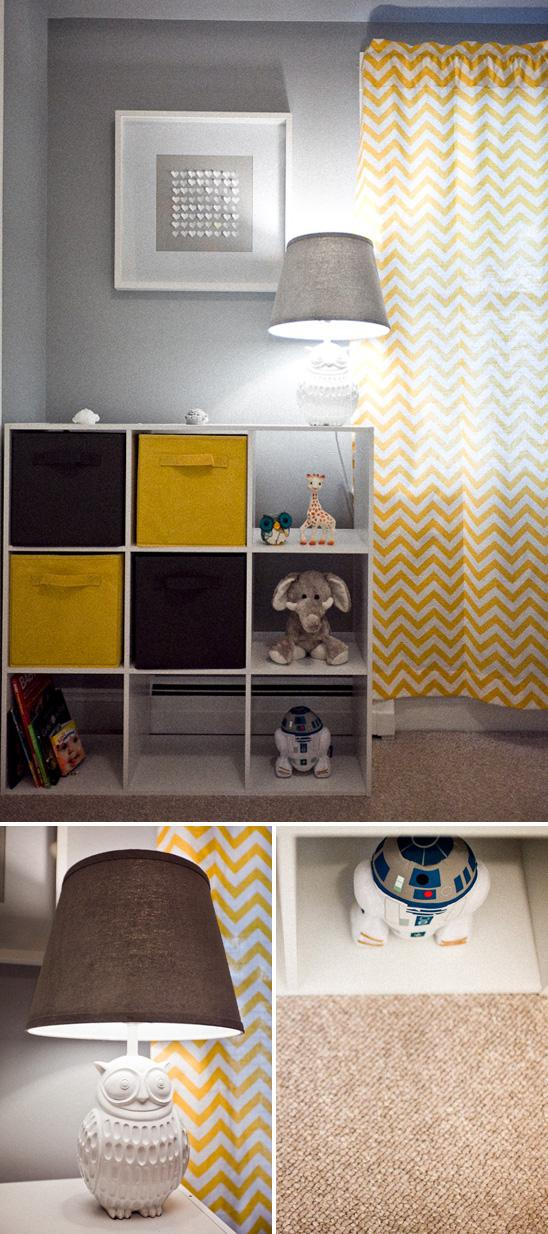 Addison's Yellow and Gray Nursery