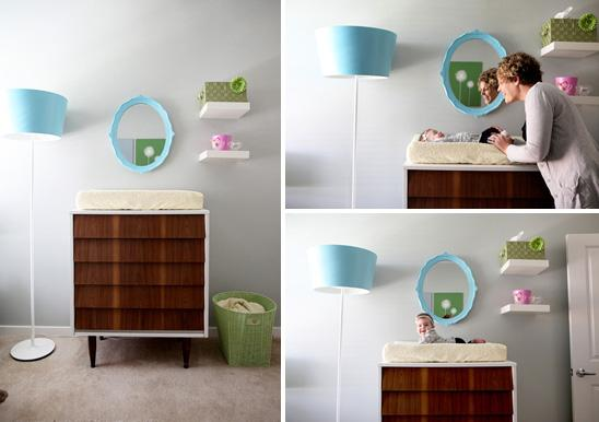 Emma's Modern Eclectic Nursery - On to Baby