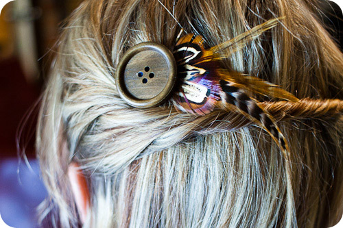 DIY: Bohemian Chic Hair Pin | McLaughlin Designs