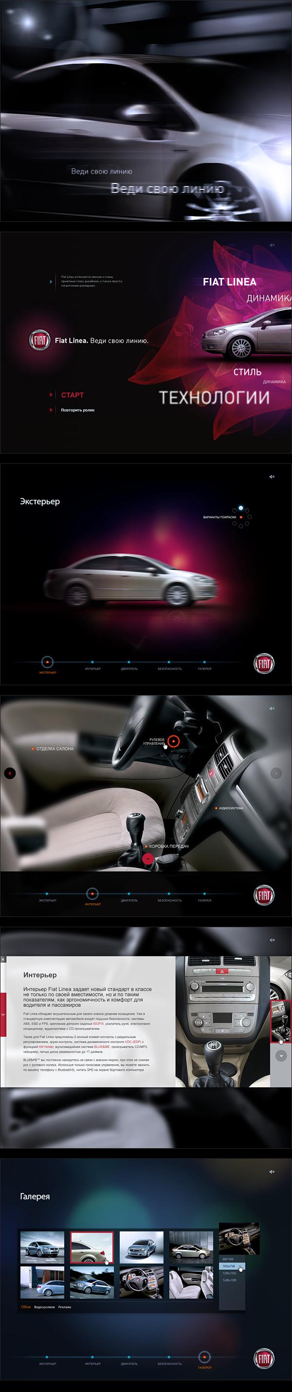Fiat Linea presentation