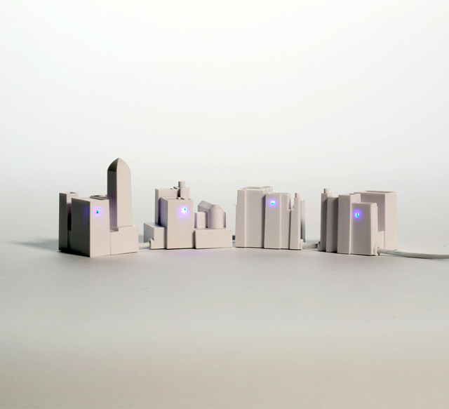 Lonely City USB Hub by David Weeks | Fancy Crave