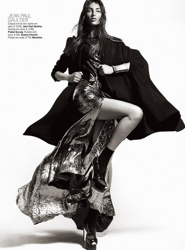 Georgina Stojiljkovic by Kevin Sinclair   Fashion Photography Blog