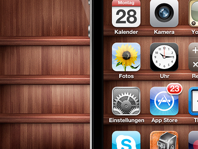 iPhone Shelf Background by Tobias van Schneider ▲▲▲