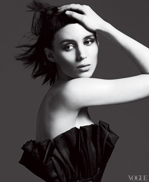 Rooney Mara | Mert & Marcus | US Vogue November 2011 | 'Playing with Fire' - 3 Sensual Fashion Editorials | Art Exhibits - Anne of Carversville Women's News