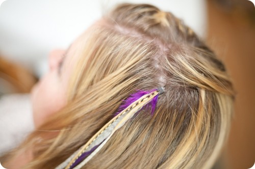 DIY: Feather Extensions | McLaughlin Designs