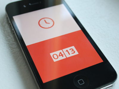 Clock App by Simon Gustavsson
