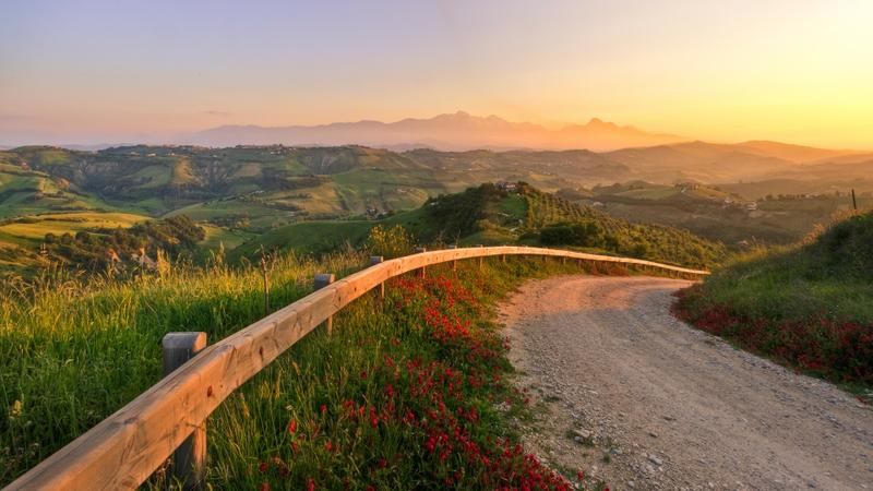 mountains,sunset sunset mountains landscapes nature sun old fields italy roads 1920x1080 wallpaper – mountains,sunset sunset mountains landscapes nature sun old fields italy roads 1920x1080 wallpaper – Sun Wallpaper – Desktop Wallpaper