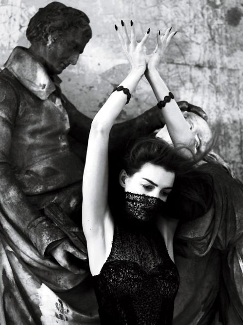 Anne Hathaway | Mert & Marcus | Interview September2011 - 3 Sensual Fashion Editorials | Art Exhibits - Anne of Carversville Women's News