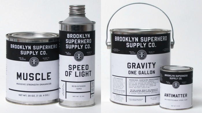 Fonts In Use – Brooklyn Superhero Supply Co.