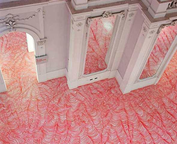 Heikie Weber's Fantastic Flooring | Mighty Optical Illusions