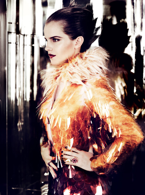 Emma Watson | Mario Testino | Vogue US July 2011 | 'Emma Watson's New Day' - 3 Sensual Fashion Editorials | Art Exhibits - Anne of Carversville Women's News