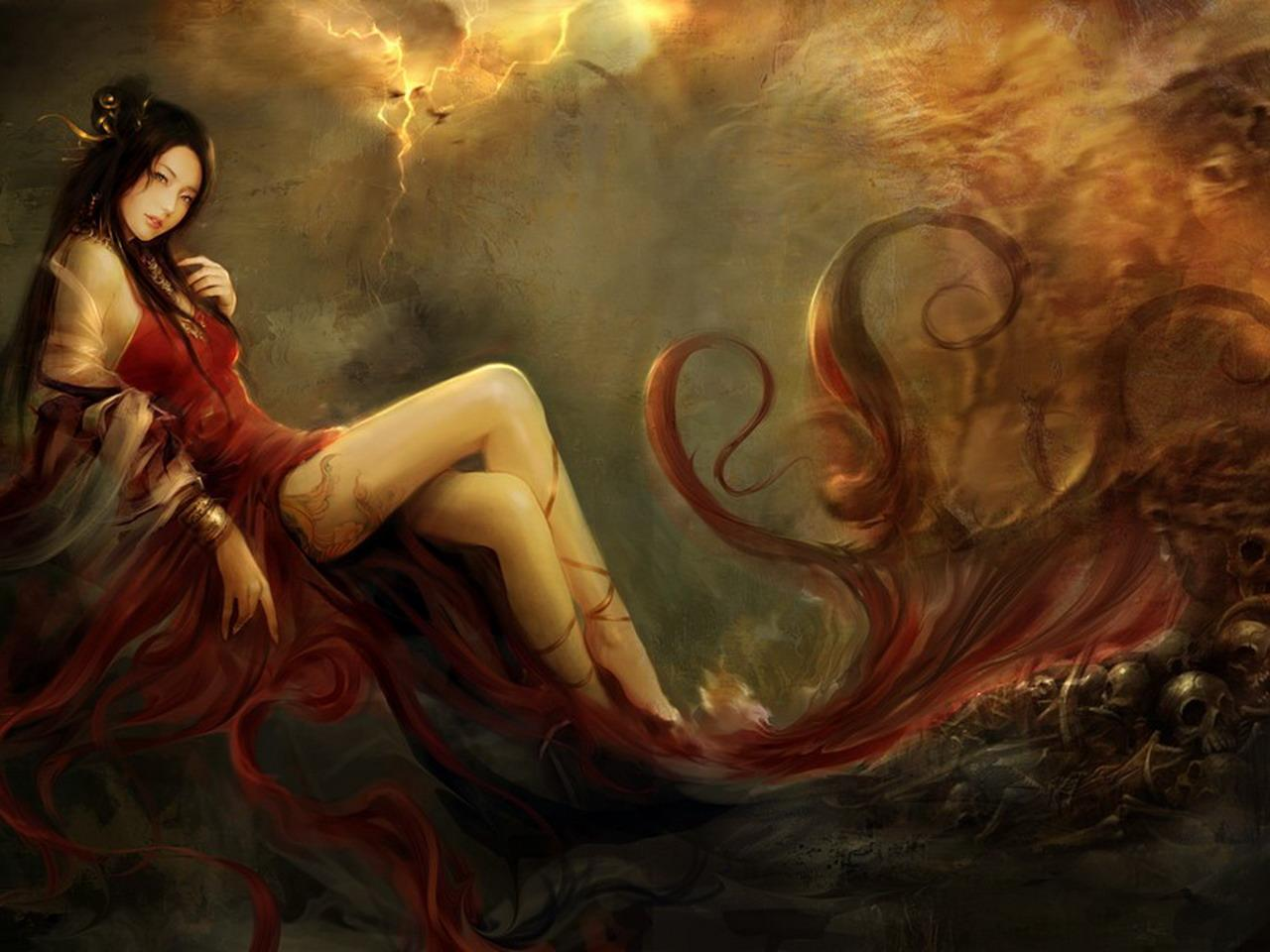Fantasy Women Wallpaper/Background 1280 x 960 - Id: 232516 - Wallpaper Abyss