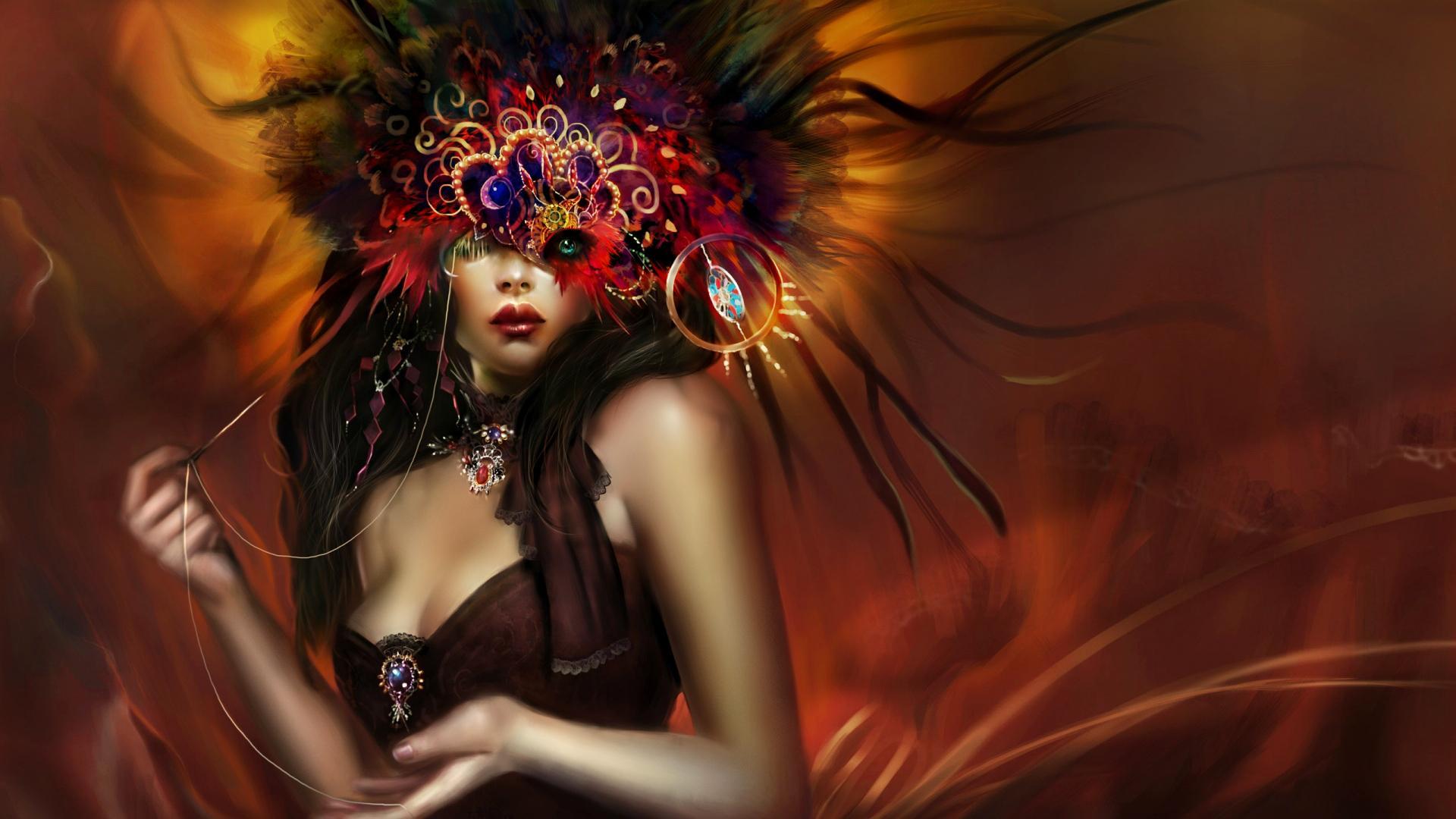 Fantasy Women Wallpaper/Background 1920 x 1080 - Id: 303672 - Wallpaper Abyss