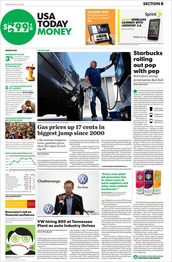 USA Today Gets A Brand Makeover | Inqmind
