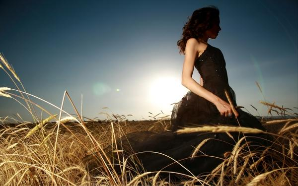 fields,women women fields black dress 2560x1600 wallpaper – Fields Wallpapers – Free Desktop Wallpapers