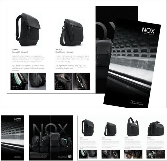 NOX by Case Logic – Integrated Campaign by Brett Miller at Coroflot.com