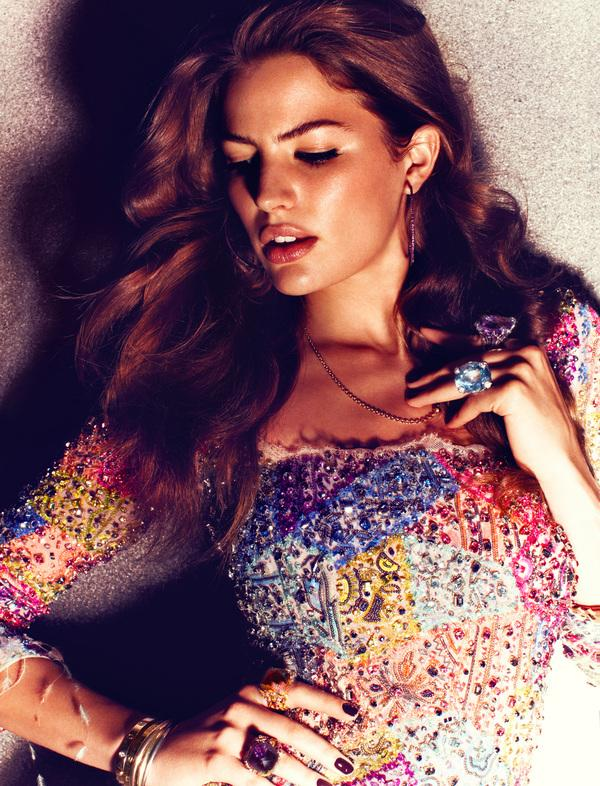 German Vogue - June 2012 - Cameron Russell on Fashion Served