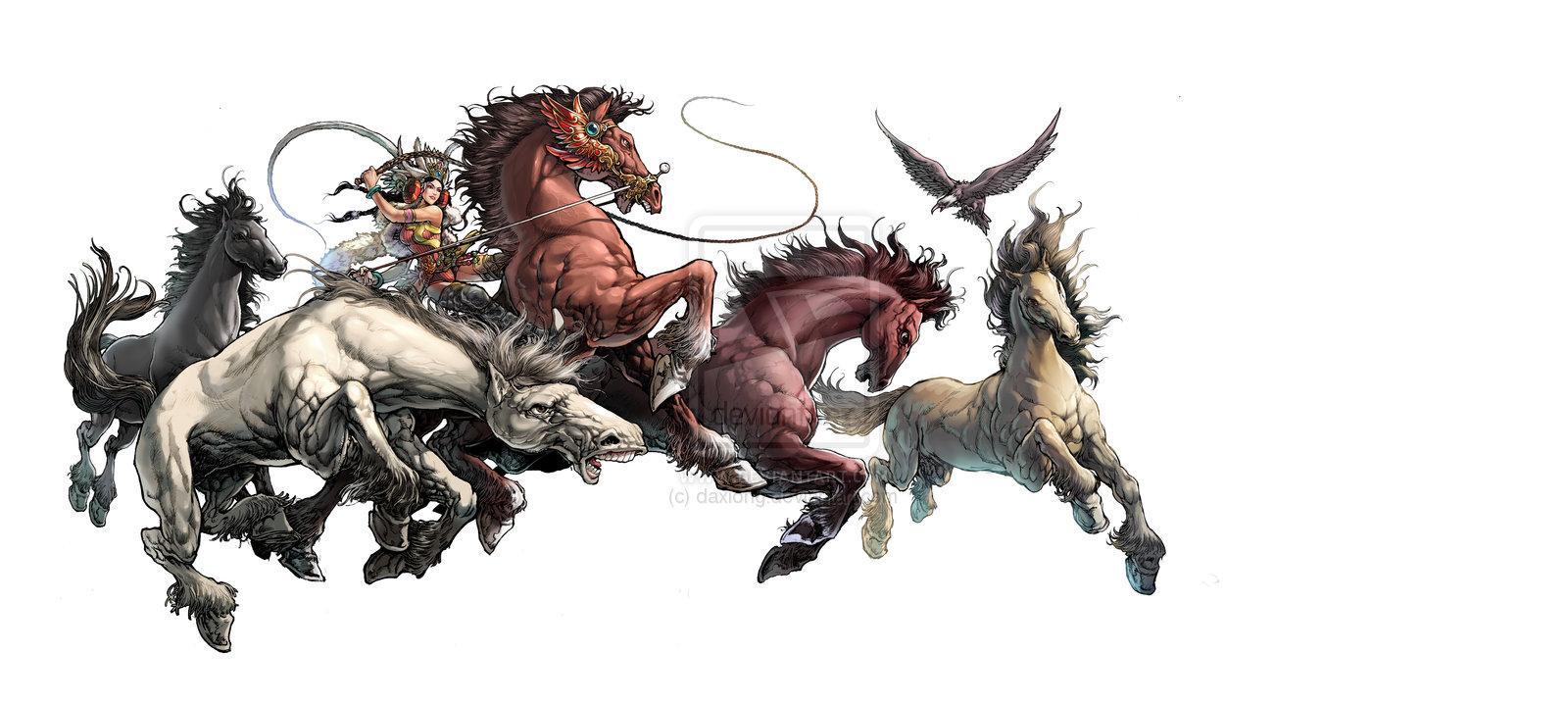 Année du Cheval par * Daxiong