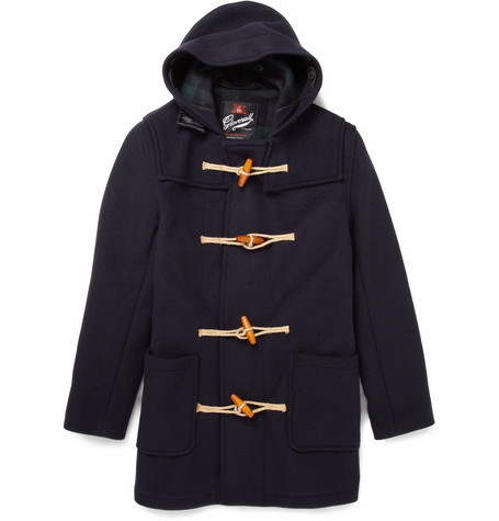 GloverallWool-Blend Duffle Coat|MR PORTER