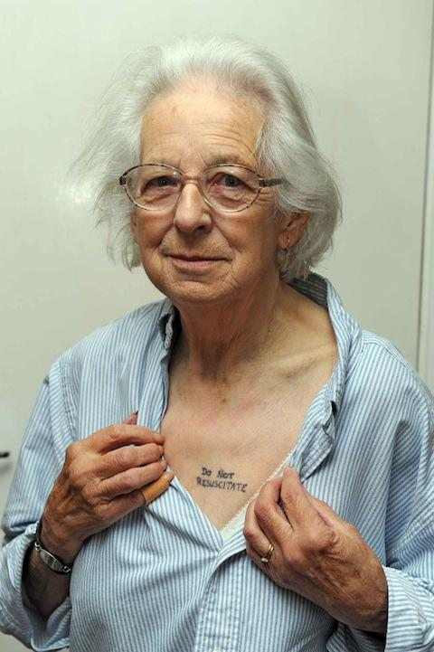 This granny's tattoo is edgier than yours — Lost At E Minor: For creative people