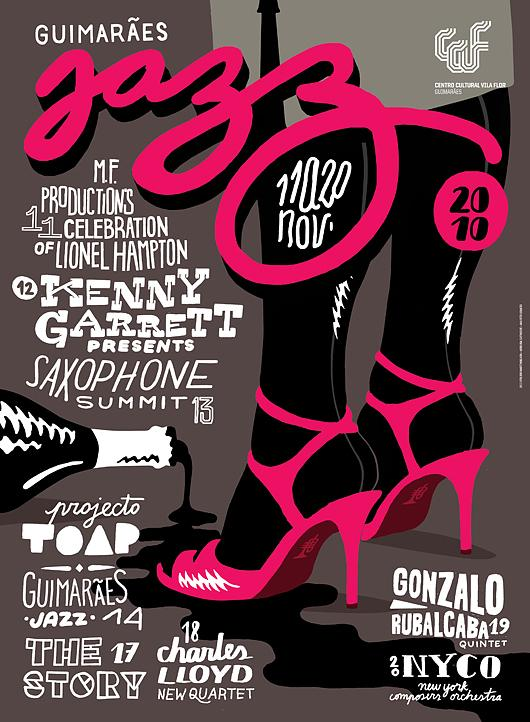 Guimarães Jazz Posters | feel desain
