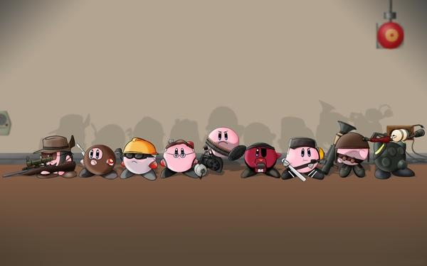 Team Fortress 2,Kirby kirby team fortress 2 1920x1200 wallpaper – Team Fortress 2 Wallpapers – Free Desktop Wallpapers