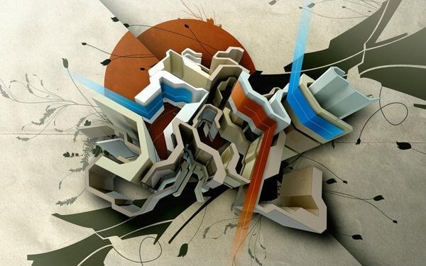 Abstract Computer Art Abstract,digital Art Abstract