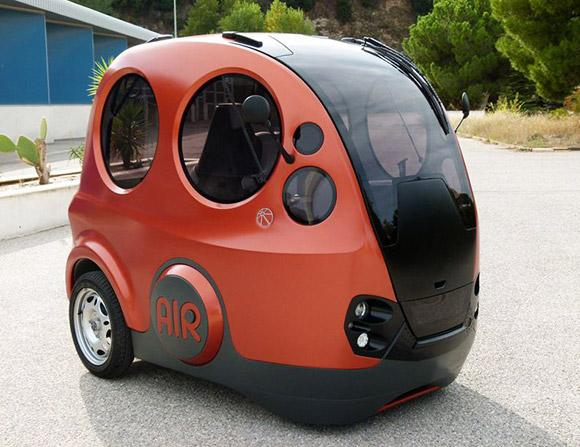 This tiny little pod car runs on air | Concept | Car