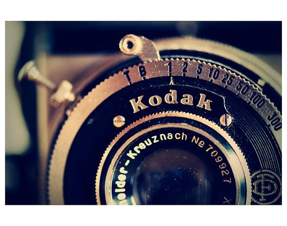 kodak camera photo print whimsical fine art by oohprettyshiny