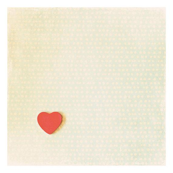 red love heart valentines photo print whimsical by oohprettyshiny