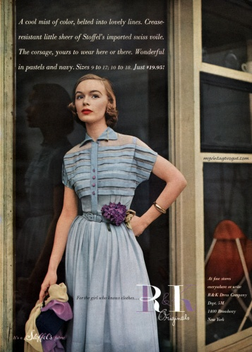 : myvintagevogue » 1950's » R & K Originals 1951