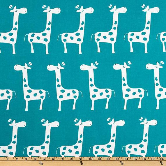 PILLOW COVERS Premier Prints Giraffe Slub by FinePillowCovers