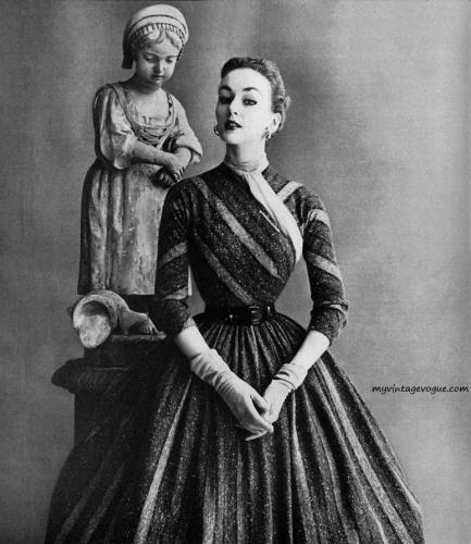 : myvintagevogue » 1950's » Anne Forgarty 1952