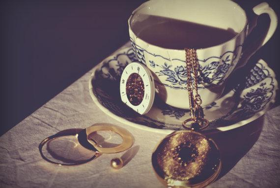 Broken tea time Fine Art Photography Print by MarionDunyach