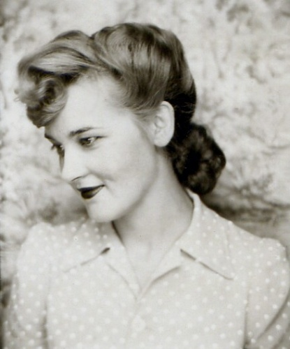 : myvintagevogue » Found Fashion » 1942 Lucille Matson Callen (Born 1919 - Died 2003)