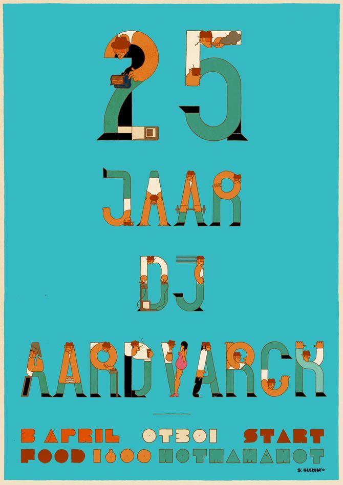 25 Jaar DJ Aardvarck - Stefan Glerum