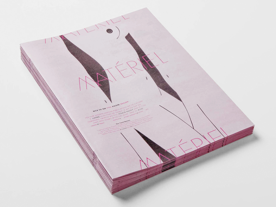 Materiel Magazine - Forest — Design & Editions — Brooklyn, NY