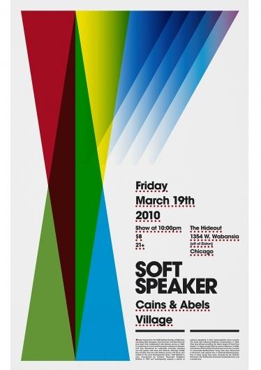 Soft Speaker poster. « LABlog — Designspiration