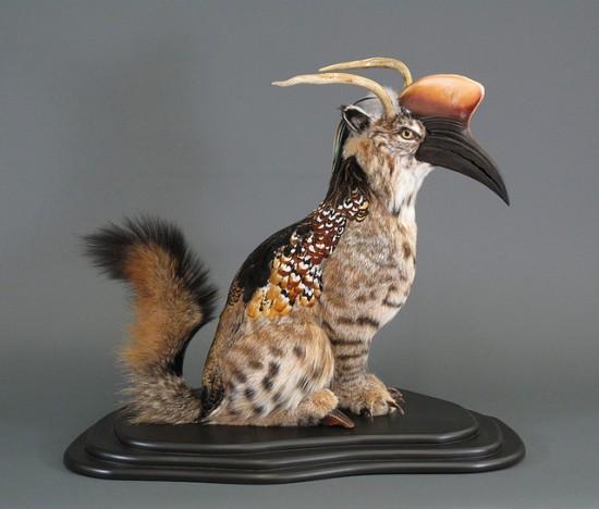 Creepy Taxidermy by Enrique Gomez de Molina   Oddity Central - Collecting Oddities